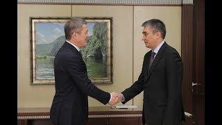 Радий Хабиров провел рабочую встречу с Послом Узбекистана
