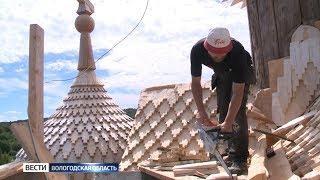 В Палтоге завершается реставрация уникальной церкви