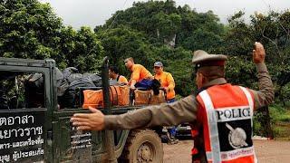 Эвакуация из пещеры Кхао Луанг началась