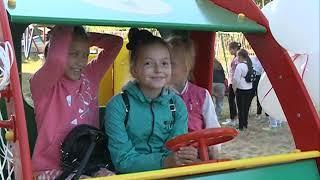 Открытие детской площадки Т Плюс