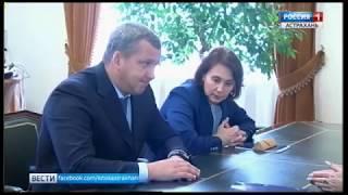 Об избрании нового сити-менеджера врио губернатору доложила глава Астрахани Алена Губанова