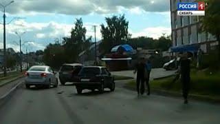 Стрельбу по людям в центре Барнаула устроили автомобилисты