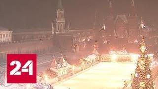 Москву заметает снегом, задержаны или отменены 28 авиарейсов - Россия 24