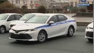 Пензенским инспекторам ДПС вручили ключи от новых машин