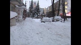 Последствия мощного снегопада в Марий Эл ликвидируют в течение нескольких дней