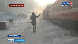 Сильнейший пожар пытаются потушить в Заельцовском районе Новосибирска