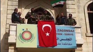 Африн под турецкими флагами: продолжение следует