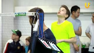 UTV. Спортсмены от 12 до 60 лет состязались на открытом турнире по бадминтону в Уфе