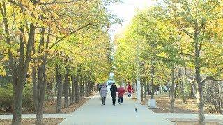 В Волжском открыли новые парк и сквер