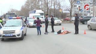 Репортаж с места смертельного ДТП в Вологде