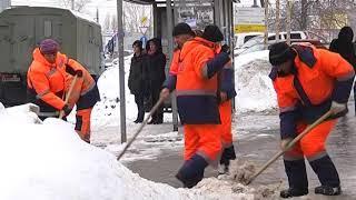 С улиц Самары ночью убрали более 5 тыс. тонн снега