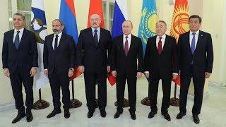 Президент Беларуси принимает участие в саммитах ЕАЭС и СНГ в Санкт-Петербурге