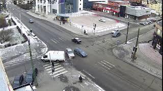 Микроавтобус устроил групповое ДТП в центре Петрозаводска