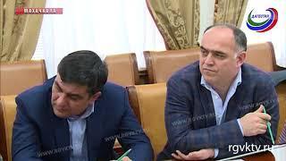 Премьер Дагестана встретился с представителями строительного комплекса республики