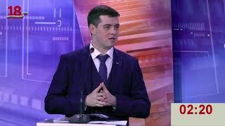 Дебаты в рамках совместных агитационных мероприятий на выборах президента. Партия ЛДПР