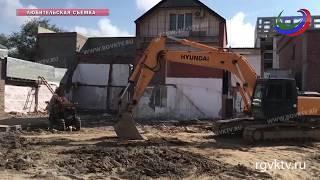 В Махачкале обрушилась стена одного из частных домов