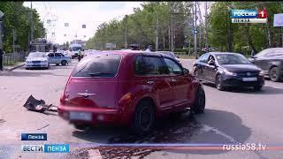 Движение по проспекту Победы в Пензе затруднило серьезное ДТП