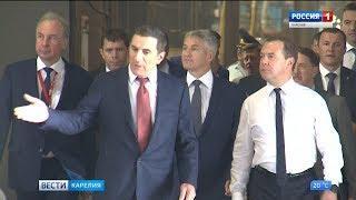 В Карелию с рабочим визитом прибыл Дмитрий Медведев