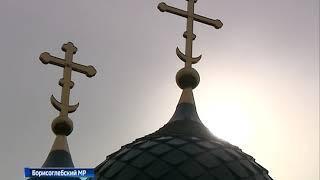 В селе Веска Борисоглебского района восстанавливают храм святителя Николая Чудотворца