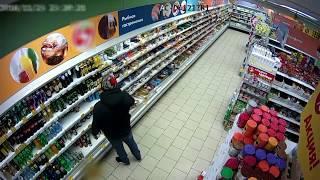 Дзержинца задержали после трапезы на 6 тысяч рублей прямо в магазине