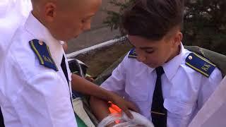 Спасатели учат детей безопасной жизни