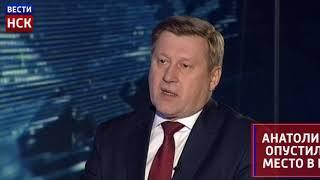 Анатолий Локоть  упал в Национальном рейтинге мэров