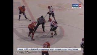 Сборная  администрации главы республики по хоккею сразилась в товарищеском матче со столичной дружин