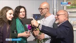 Смоленский художник Долосов представил юбилейную выставку