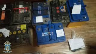 В Георгиевском округе рецидивист похитил 16 аккумуляторов