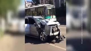 Массовое ДТП произошло в центре Ростова
