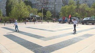 В Дзержинском районе открыли новый фонтан