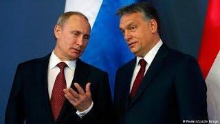 Пресс-конференция Путина с премьер-министром Венгрии по итогу переговоров. Полное видео