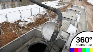 На полигоне «Ядрово» началась откачка фильтрата