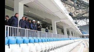 К первому тестовому матчу «Волгоград Арена» полностью готова