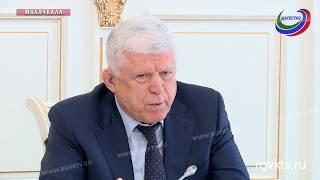Спикер НС Хизри Шихсаидов провел заседание Президиума дагестанского парламента