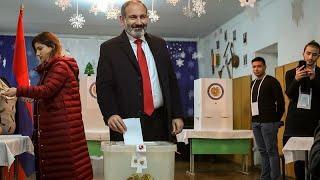 Блок Никола Пашиняна победил на выборах в парламент Армении…