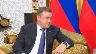 Рабочая поездка Николая Любимова в Грозный