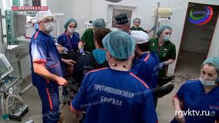 В Республиканском ортопедо-травматологическом центре открылось отделение критических состояний
