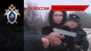 """Участники """"банды ГТА"""" на месте преступления"""