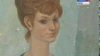 В музее Васнецовых открылась выставка художника Игоря Румянцева (ГТРК Вятка)