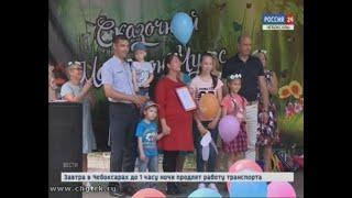 В Лакреевском лесу прошёл фестиваль семейного творчества