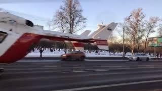 Серьезное ДТП на Кутузовском проспекте