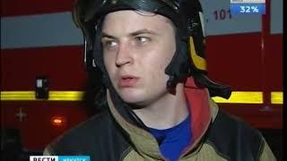 Пожар в историческом центре Иркутска  Пострадали два человека
