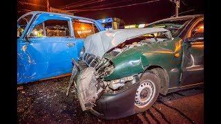 На Паникахи столкнулись ВАЗ и Daewoo Lanos: виновник ДТП сбежал с места аварии
