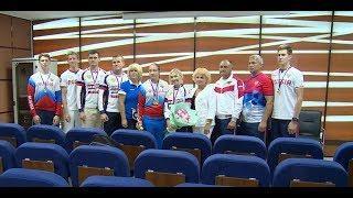 Пресс-конференция чемпионов России по ВМХ