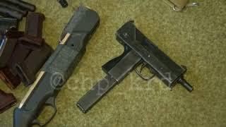 Склад оружия в доме у жителя Сочи