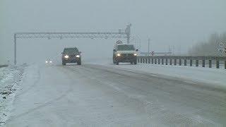 Снегопад и плохая видимость: в республике вновь ожидается ухудшение погоды