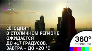 Летнее тепло приходит в столичный регион