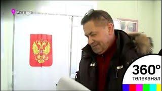 Николай Расторгуев проголосовал в Троицком