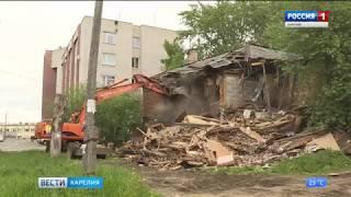 Жители Петрозаводска жалуются на строительный мусор